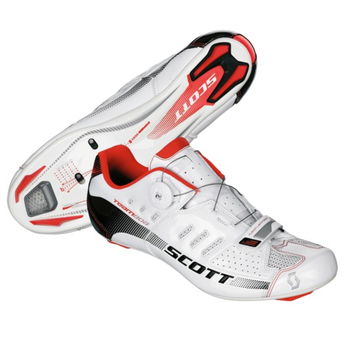 Chaussures Scott Route Team Boa white gloss