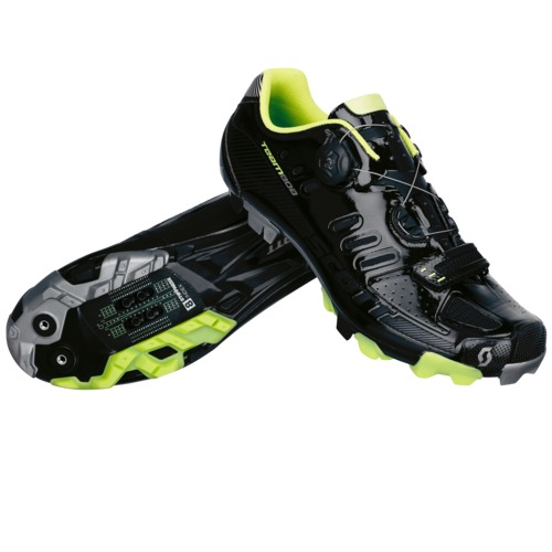 Chaussures VTT Team Boa bl glo/li gr
