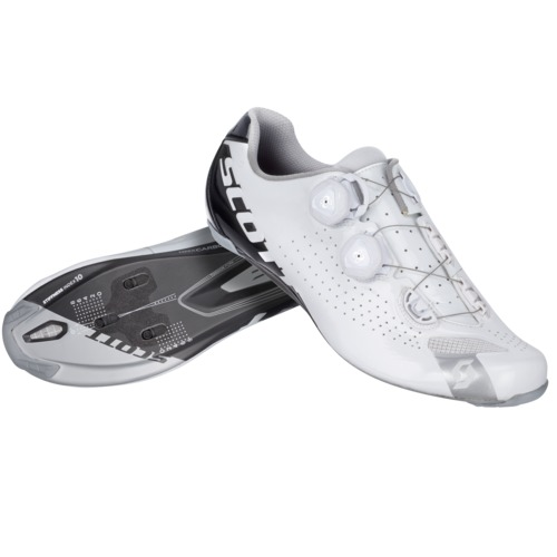 Scott Chaussures route RC wht/bl gloss