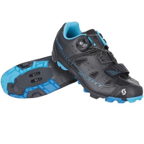 Scott Chaussures Elite Boa femme blac/neo blu