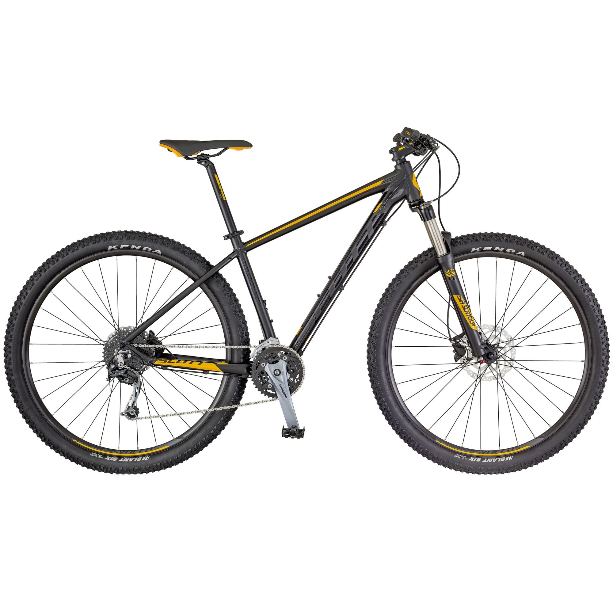 Aspect 930 Bike schwarz/gelb L - Zweirad Homann