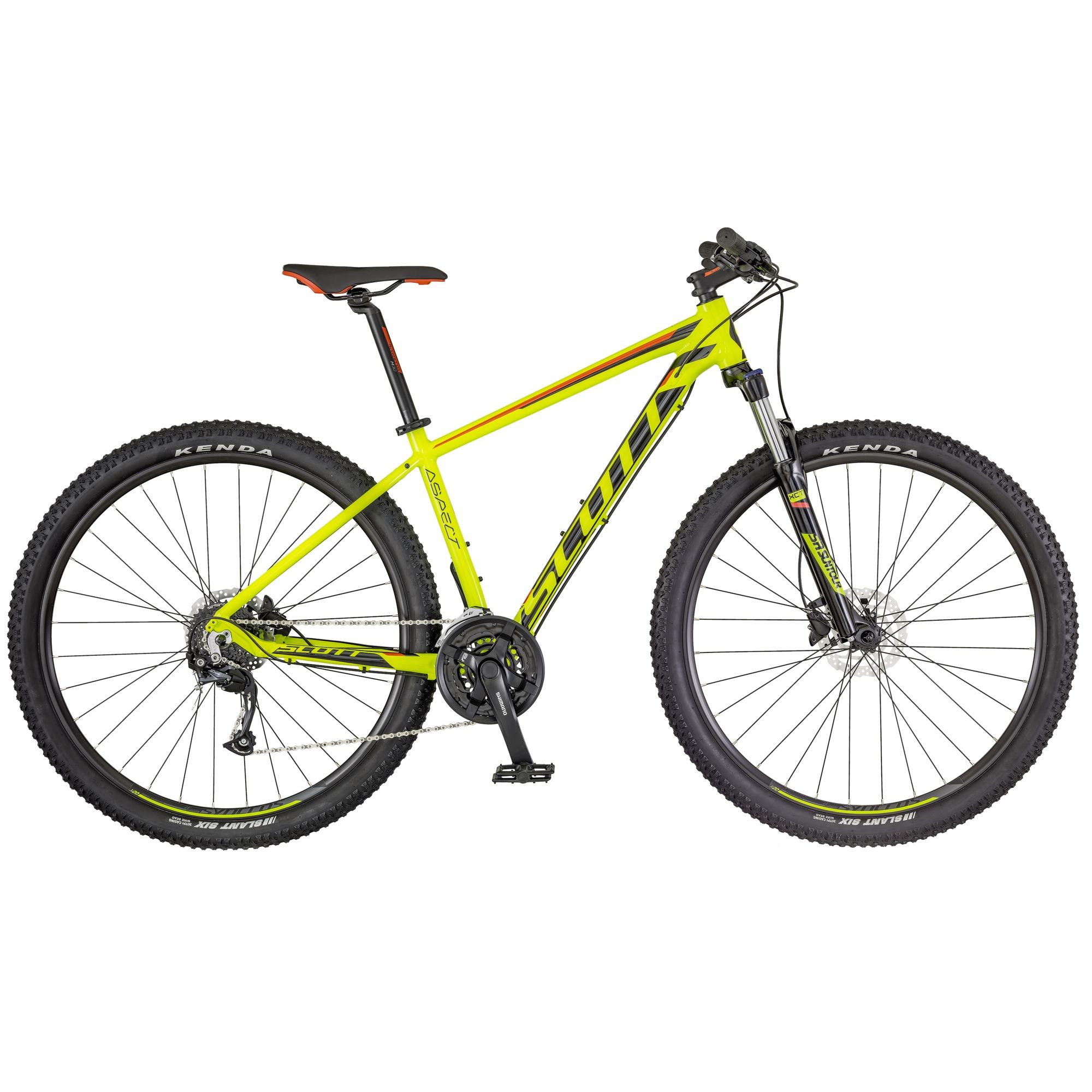 SCOTT Aspect 950 Bike gelb/rot L - Zweirad Homann