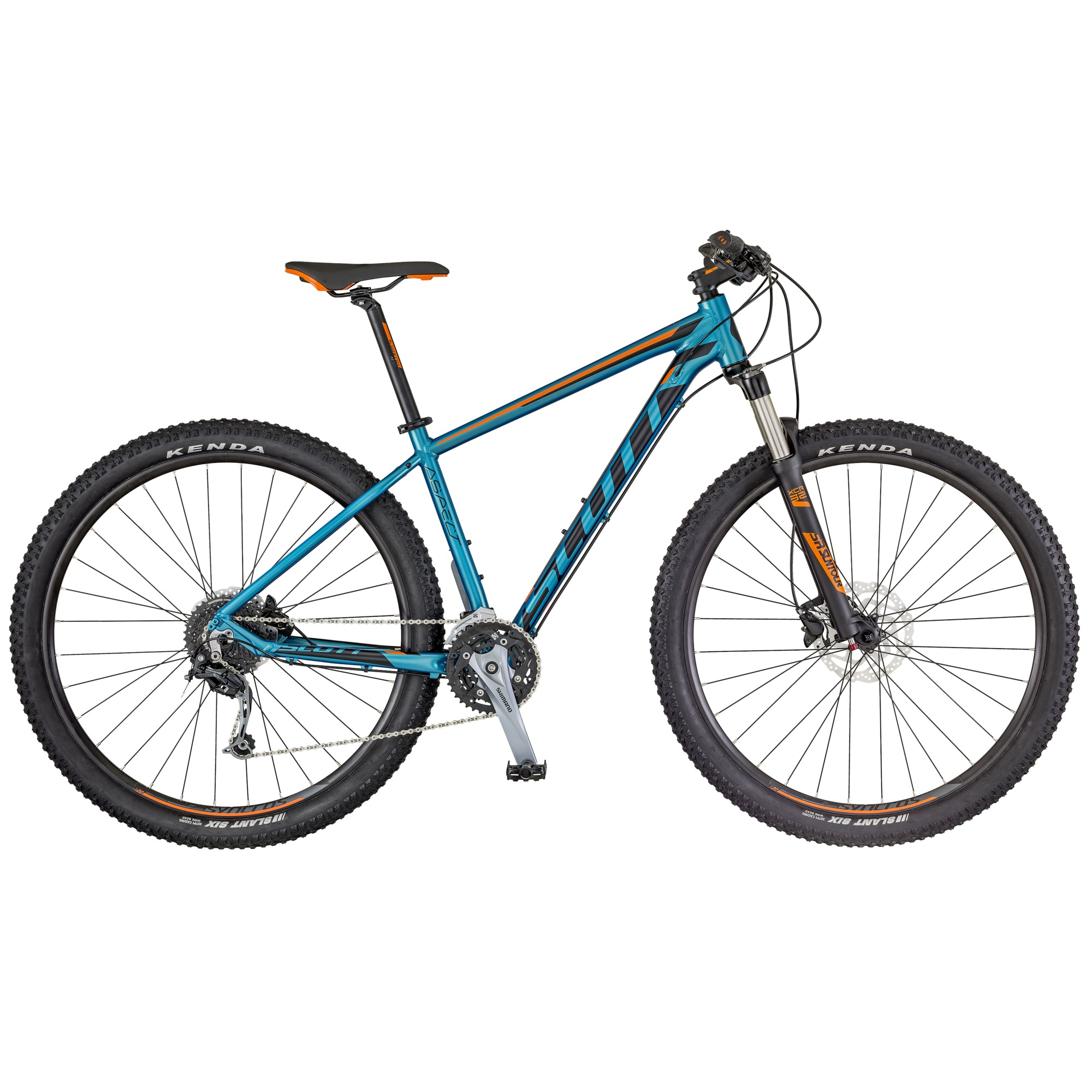 SCOTT Aspect 730 Bike blau/orange XL - Zweirad Homann