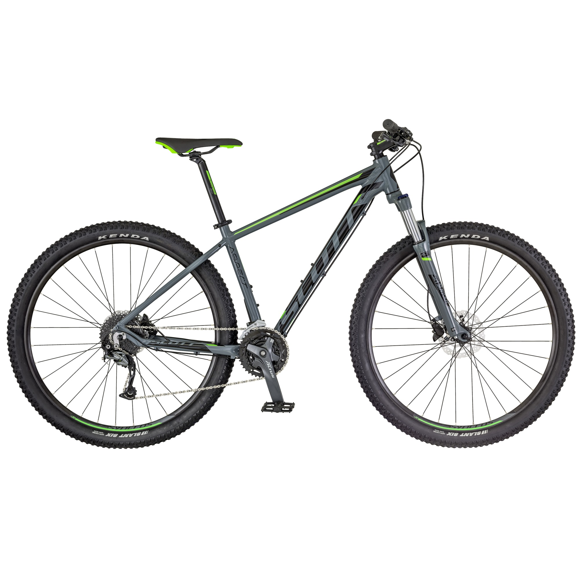 SCOTT Aspect 740 Bike grau/grün XL - Zweirad Homann