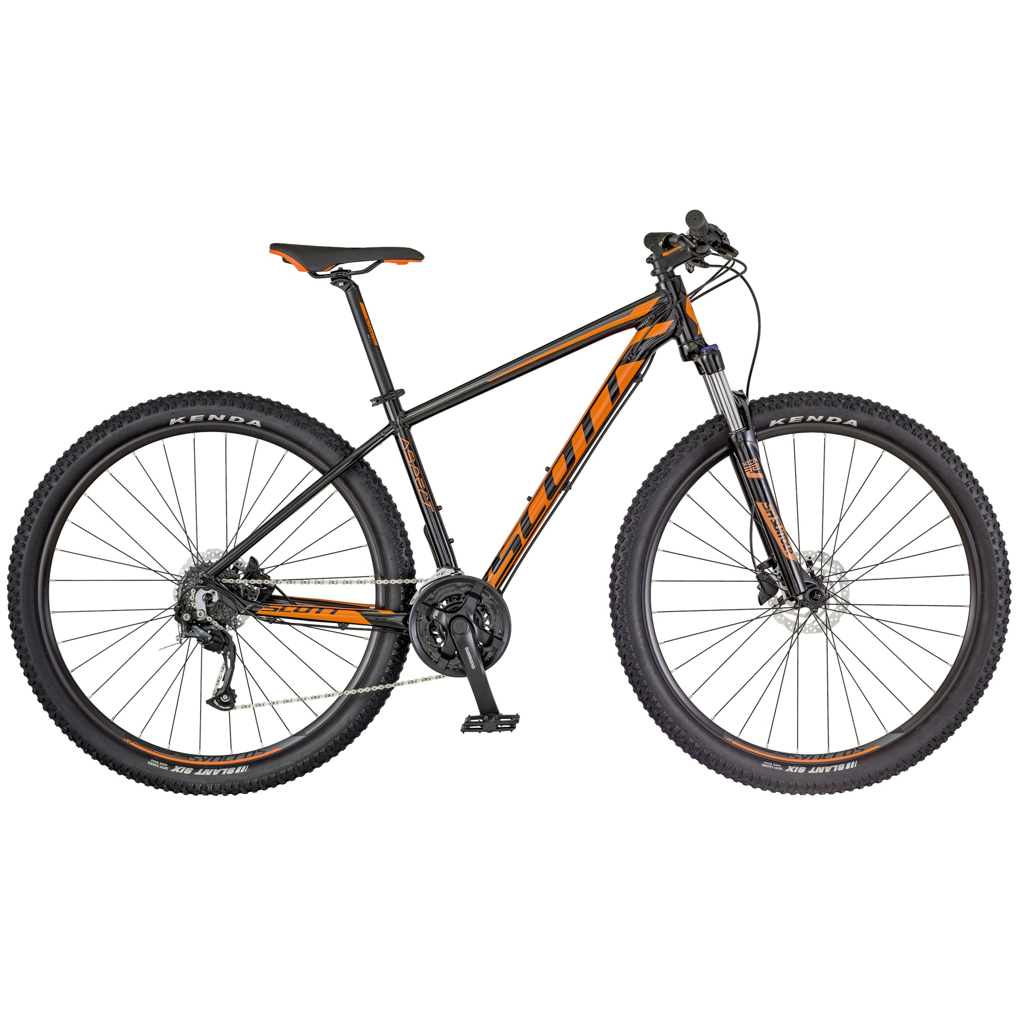 SCOTT Aspect 750 Bike schwarz/orange L - Zweirad Homann