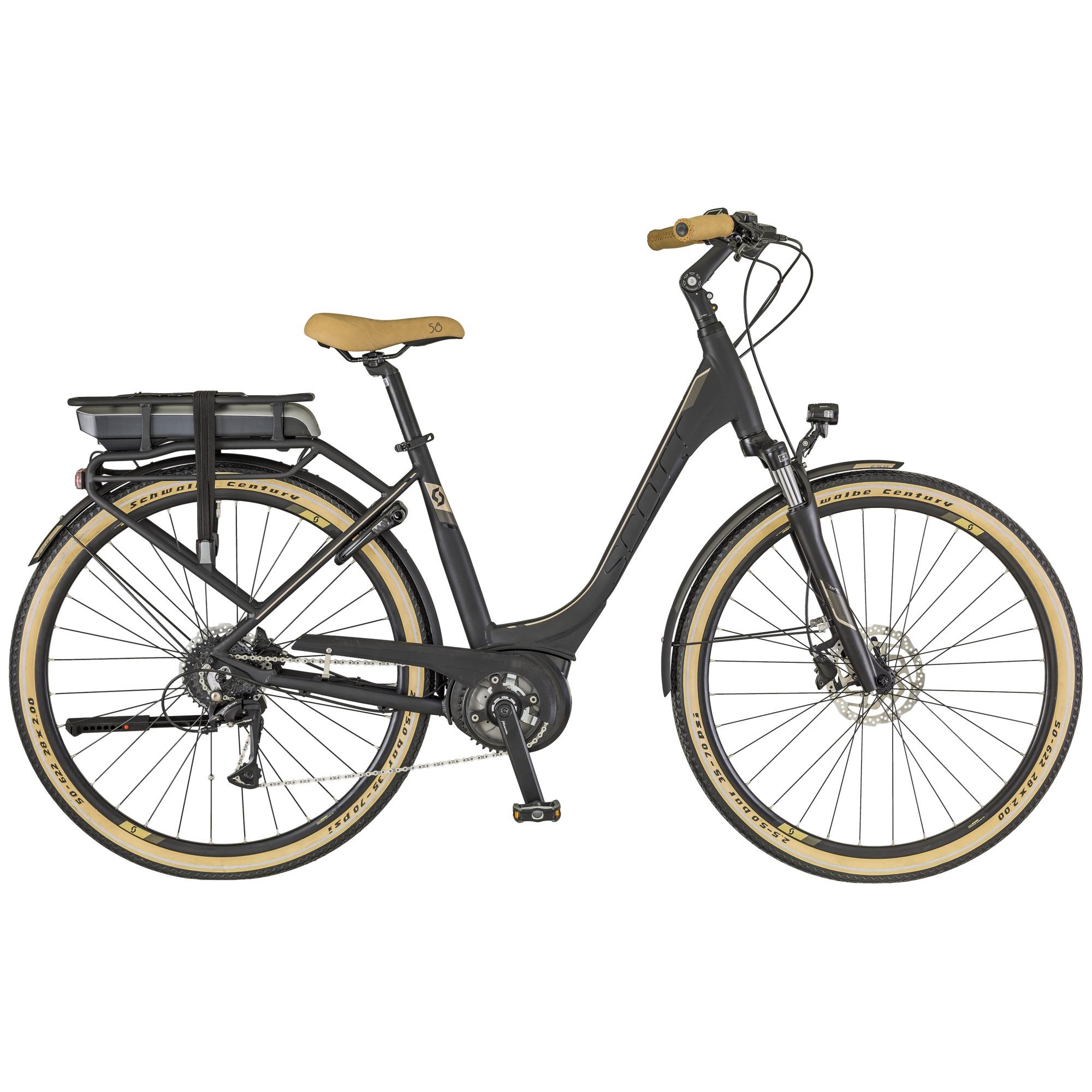 SCO E-Sub Active Unisex Bike (Gepäckträgerausführung) S - SCO E-Sub Active Unisex Bike (Gepäckträgerausführung) S