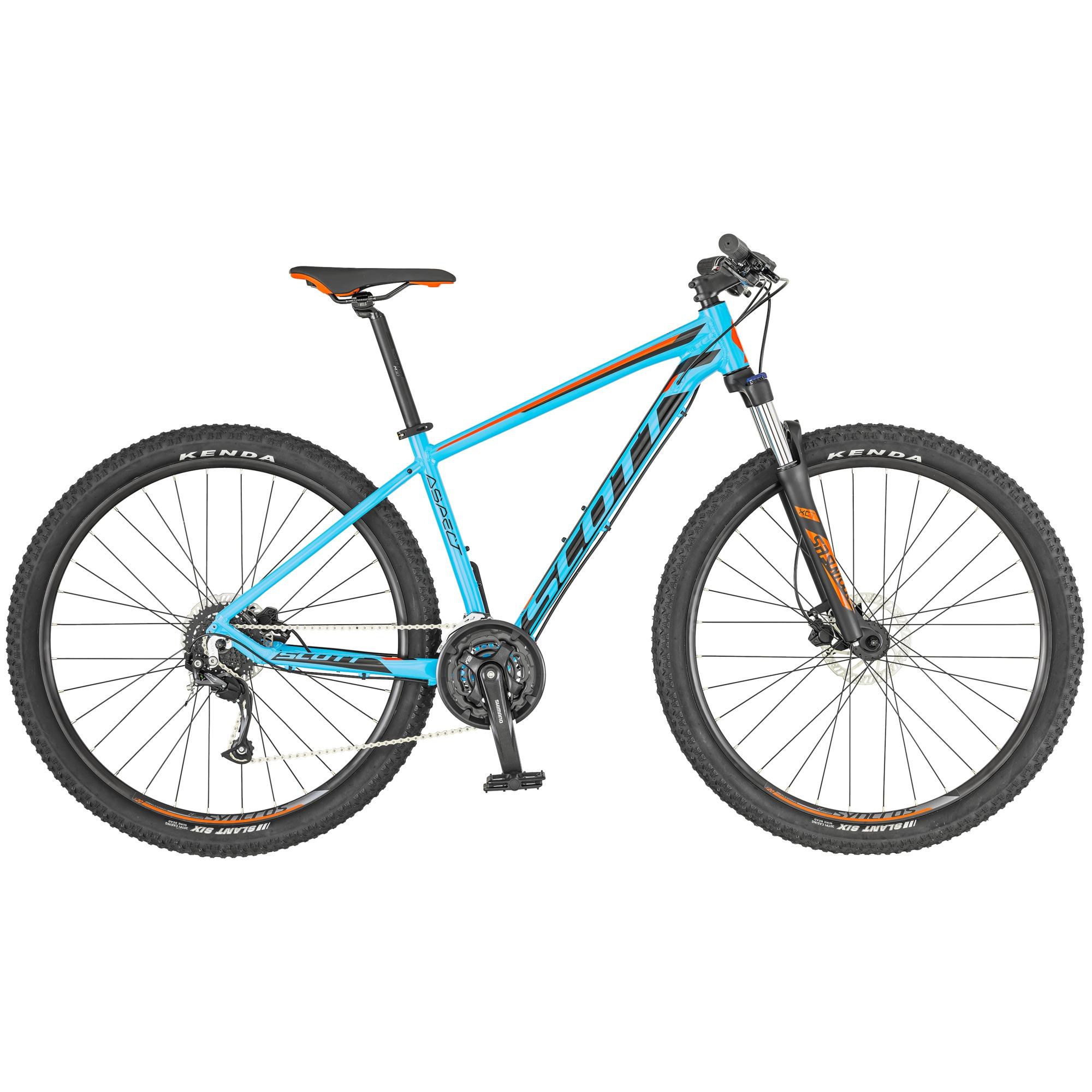 SCOTT Aspect 750 Light blue/Red Bike M - Fahrrad online kaufen | Online Shop Bike Profis