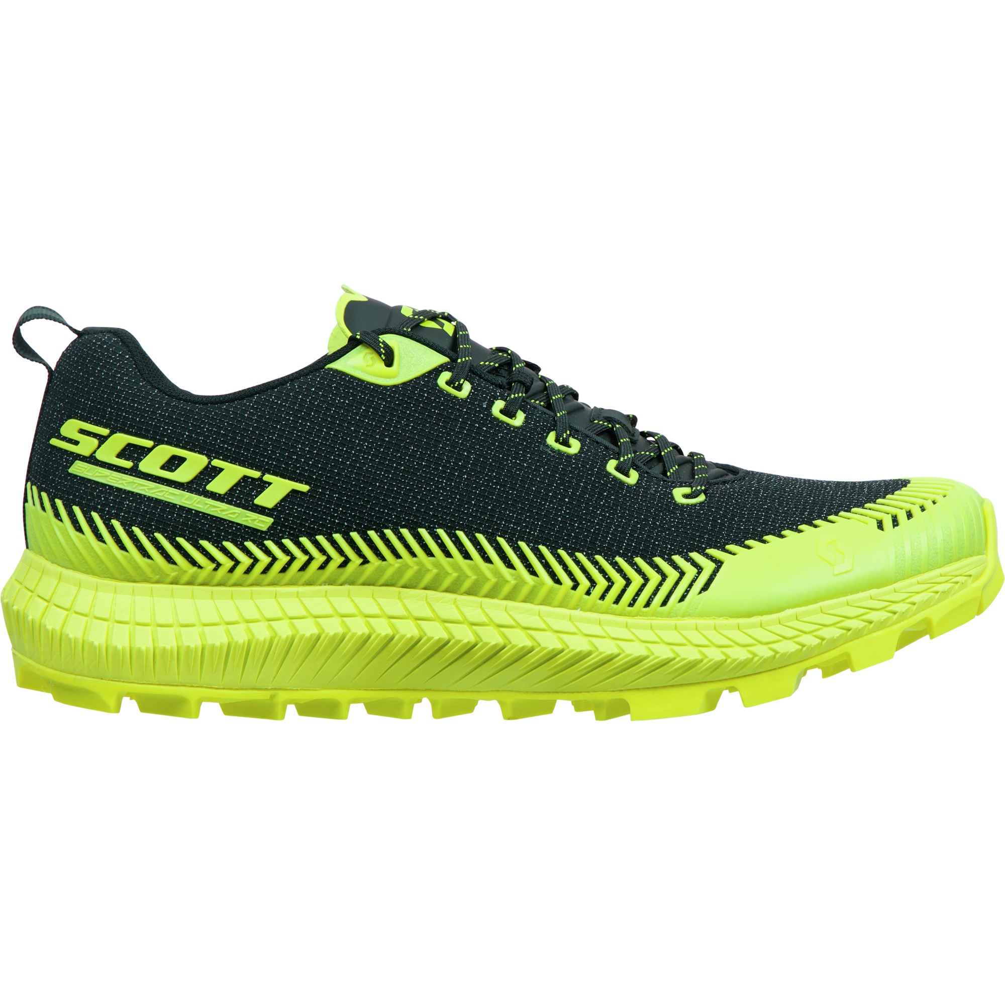 Scott Shoe Supertrac Ultra RC black/yellow
